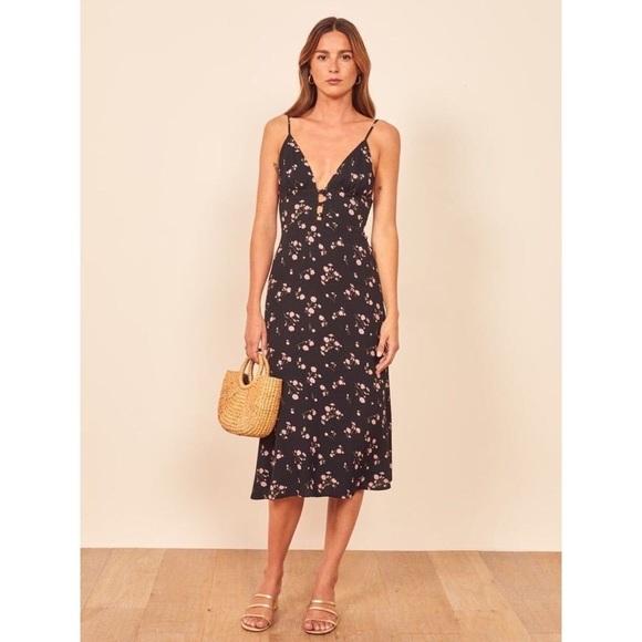 Reformation Montague Dress in Ensenada NWT, Size 0